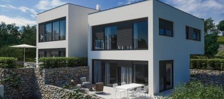 NOVO! Moderna obiteljska kuća 100 m do mora